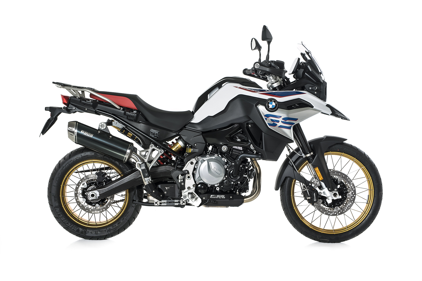 F 750 GS / F 850 GS Dune Fox Slip-on Euro 4 16