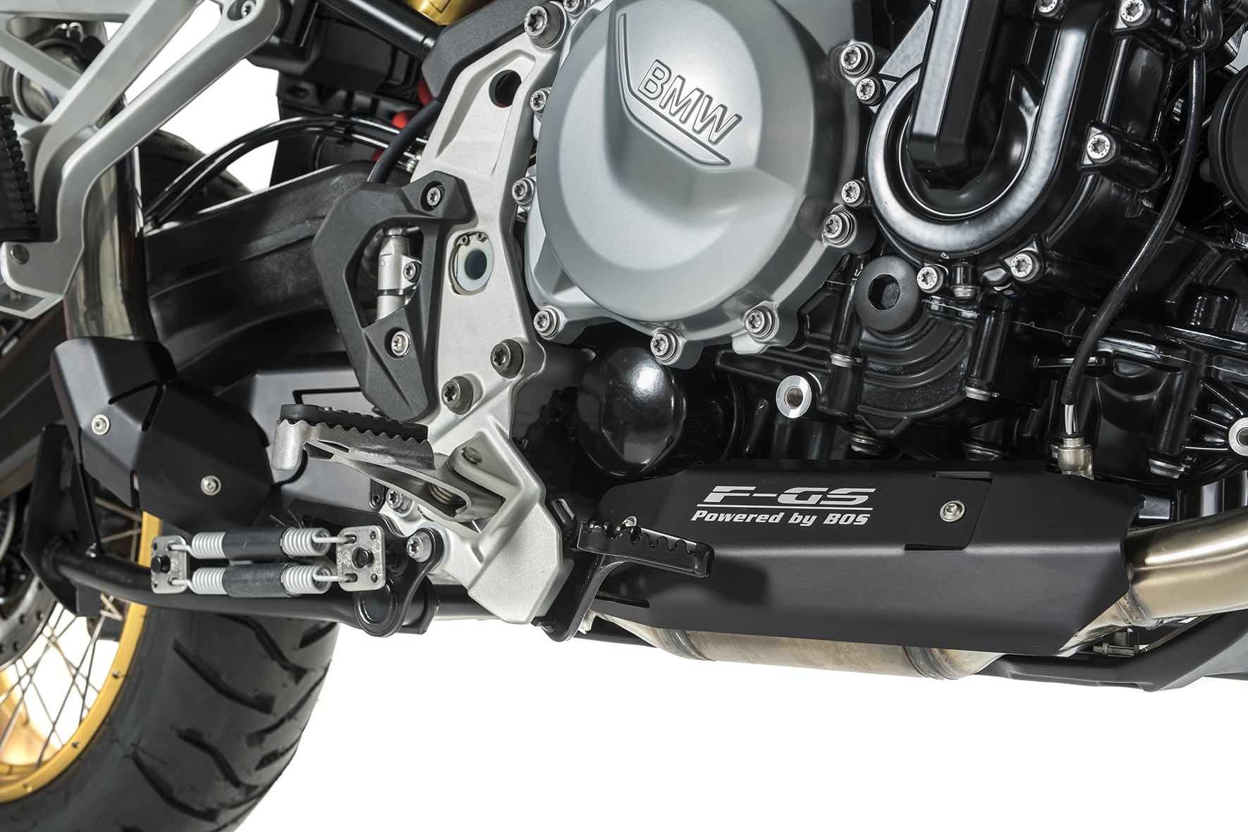 F 750 GS / F 850 GS Dune Fox Slip-on Euro 4 5