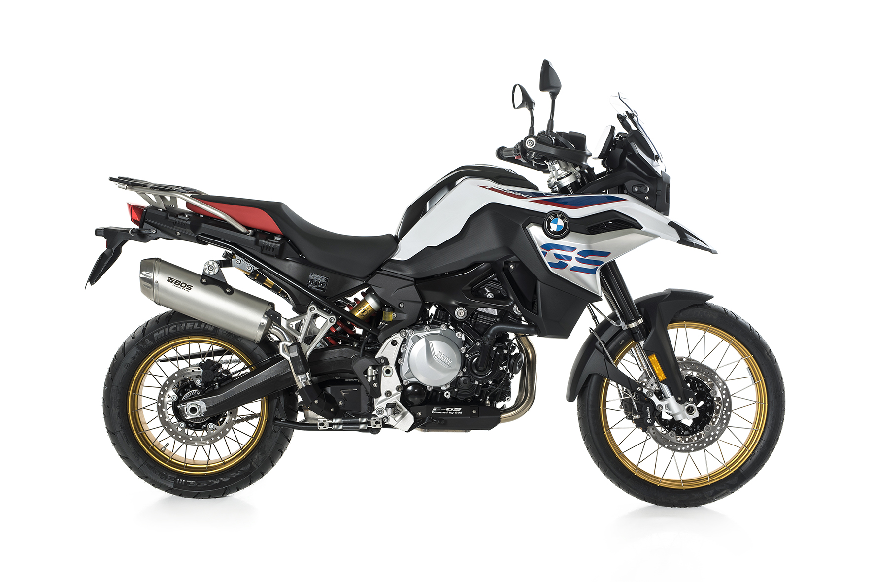 F 750 GS / F 850 GS Dune Fox Slip-on Euro 4