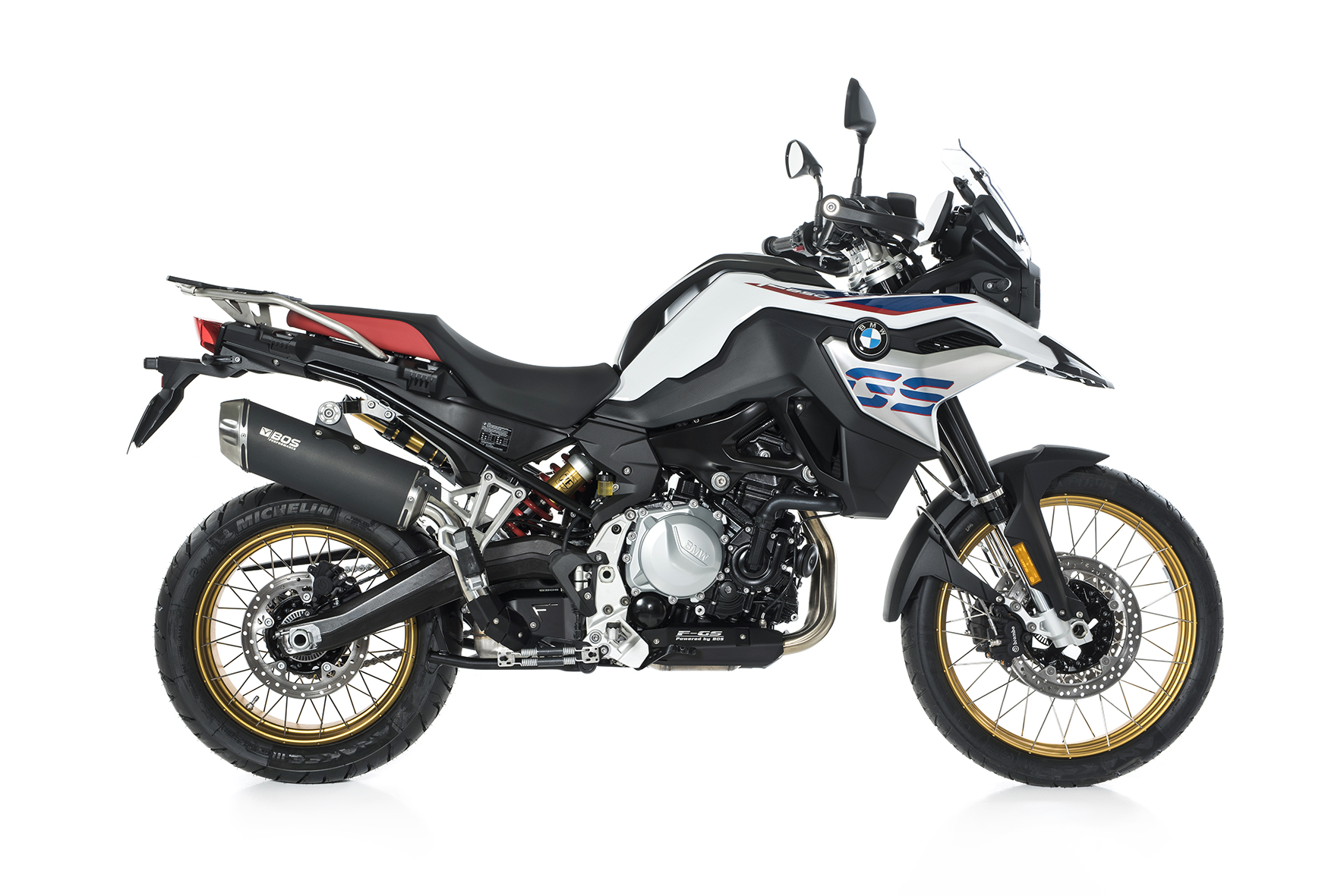 F 750 GS / F 850 GS Dune Fox Slip-on Euro 4 10