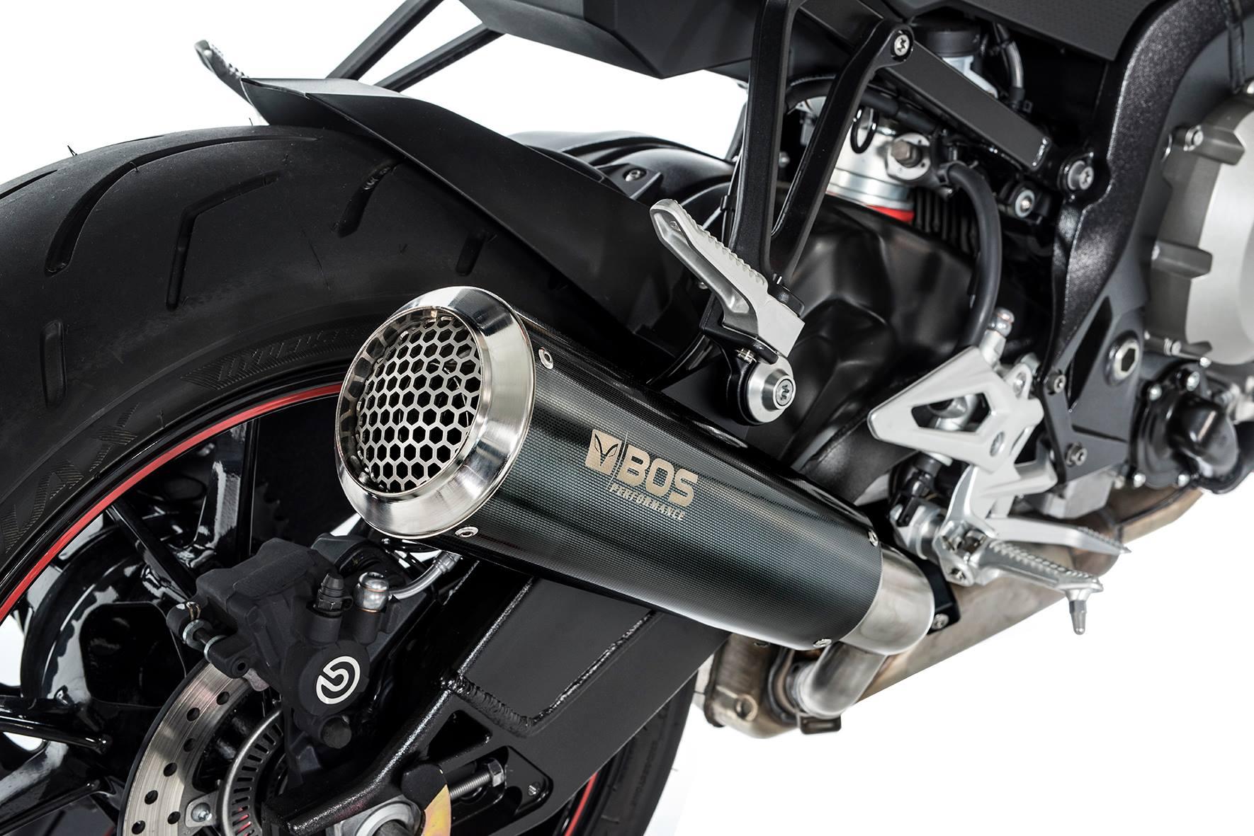 Bmw S 1000 R Ab 2017 Euro 4 Ssec Rr Slip On Bos Auspuff