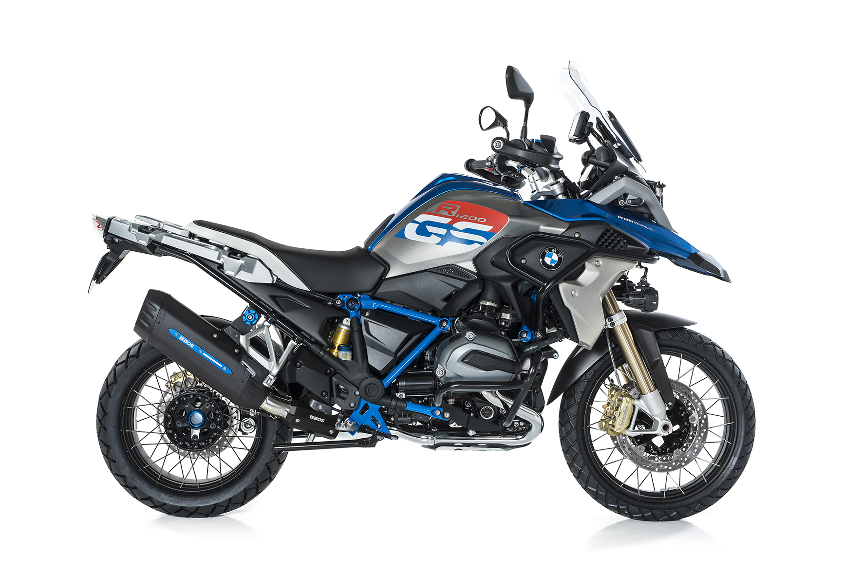 BMW R 1200 GS / Adventure ab 2017 BOS Desert Fox Rallye edition Slip-on