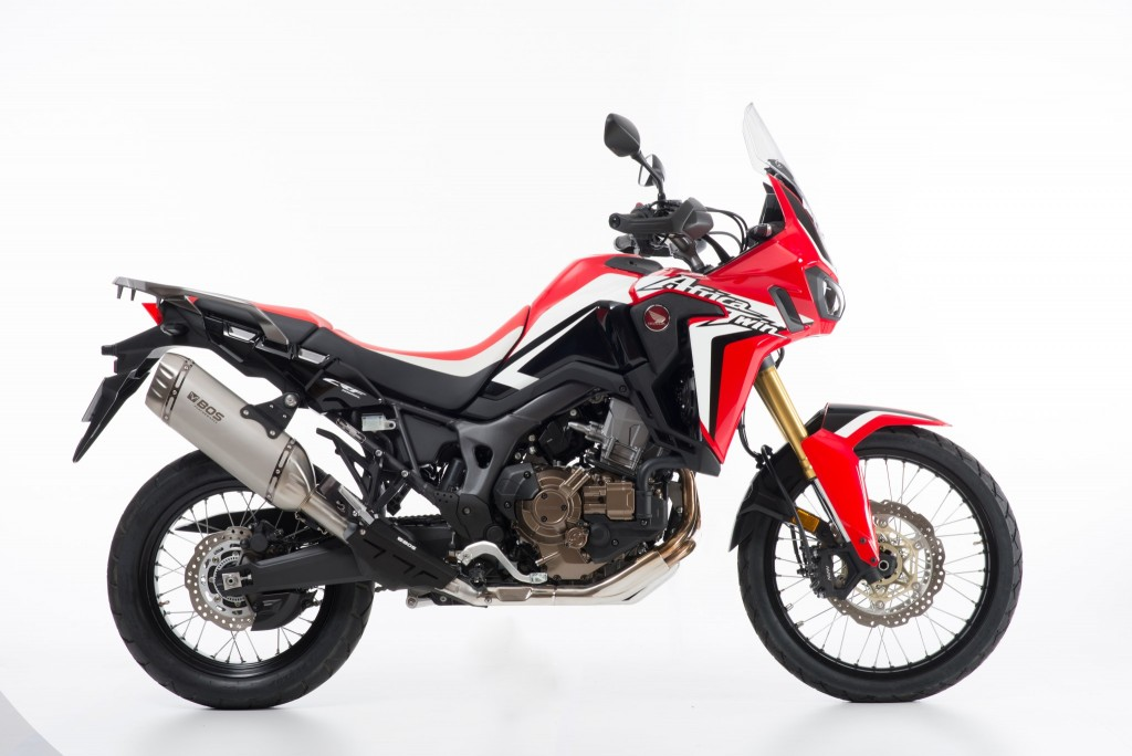 Honda CRF 1000 Africa Twin ab 2016 Desert Fox Slip-on