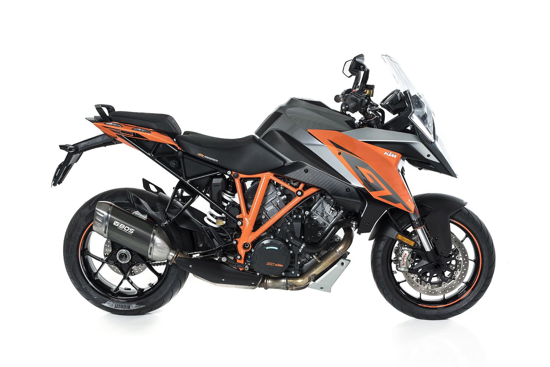 KTM 1290 Superduke R ab 2017 Euro 4 Desert Fox Slip-on